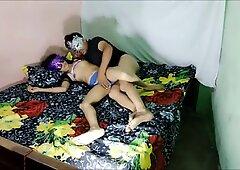 Indian Desi wife pokes in labia Plumber Dirty talk in Clear Hindi Audio