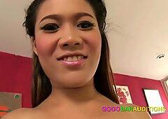 New Thai girl auditions for gogo job