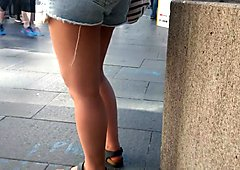 Bare Candid Legs - BCL#223
