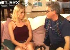 Nice facefucking by big ass blonde Petra