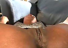 Black milf chick gets stuffed hard