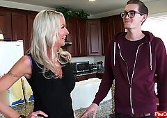 molten light-haired MILF Emma Starr gets filled with cum by a big chisel - Mrs. Creamp
