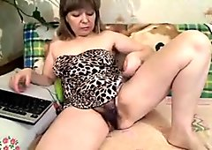 Very Hairy Mature On Cam