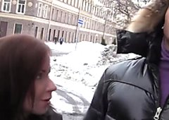 Titted redhead girl divorced for sex