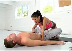 Getting Head from Yoga MILF