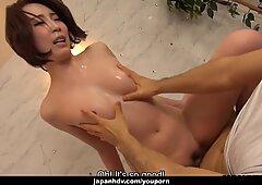 Japanese housewife, Aya Kisaki got fucked, uncensored