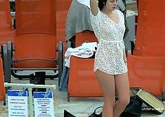 Katy Soroka hairy teen underwater