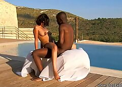 Ebony Adventures In Outdoor Love