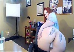 Big Titty PAWG Nipple Clamps Masturbating
