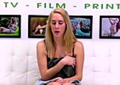 FetishNetwork Cadence Lux slave casting