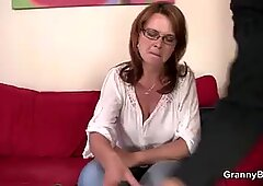 huge-chested mature hoe is picked up in the bar and fucked