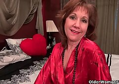 Over 50 milf Mimi's sex drive is still going strong