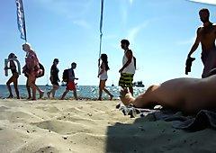 Beach reactions, part 2