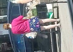 Kroger parking lot voyeur
