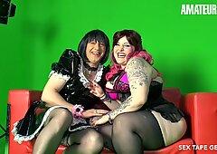 AMATEUR EURO - Real German Couple Has Kinky Sex On Cam