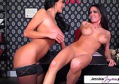 Jessica Jaymes & Ava Addams lesbian fuck fest, big booty & big boobs