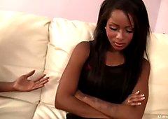 Ebony Babes First Sensual Lesbian Sex