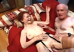 Hey my grandma is a whore and she loves hard cocks