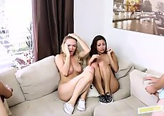 Jade Jantzen and Molly Mae horny 4some