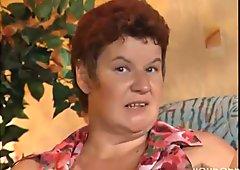 Fat mature German lady enjoys a hard cock  DBM Video