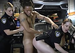 Big Tit cops catch a perp