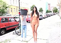 Nude german model does the ALS Ice Bucket Challenge