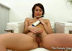 Cutie Bates to Two Pussy Pulsing Butt Puckering Orgasms