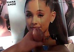 Ariana Grande Cum Tribute 29