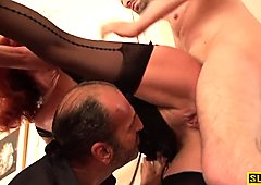 Dominated mature assfucked roughly