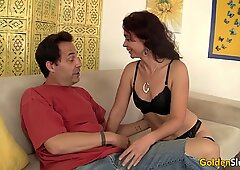 Slim Older Babe Sable Renae Loves a Hard Cock