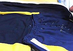 cum on skirt and blouse school objetivo