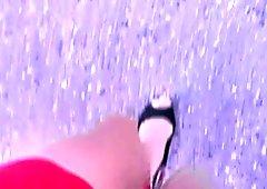nude pantys and nice heels