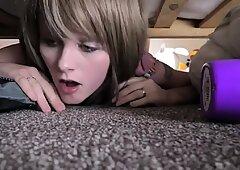 Stepmom Trapped Under Bed