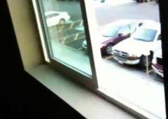 Window wanking 2