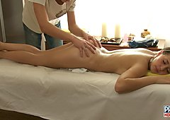 HD fucking in massage salon video