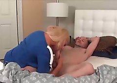 Sexy milf fucks her husband
