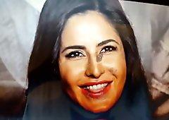 Katrina Kaif Oiled DIck Cum Tribute #7
