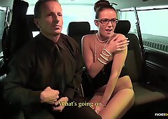 Fucked In Traffic - Hot car sex with Czech beauty