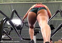 Pawg Ass - Gym Stair Climber