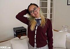 Gorgeous Asian Schoolgirl Teen Harriet Sugarcookie Solo