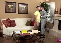 Chris Harder and Travis James sucks each other