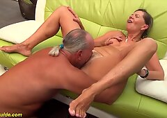 hairy 76 years old granny rough fucked