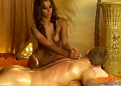 Blonde Massage From Exotic Lands
