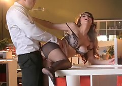 Babes - A Run In Her Stockings, Nina North