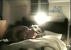 Abi Tittmus caught on tape giving awesome blowjob
