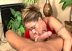 Eva Notty gets fucked and swallows cum for 1st time