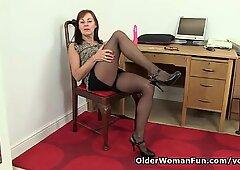 British office lady needs orgasmic relief