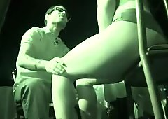 Zesty Stripper Gives Back room delight