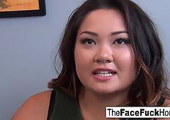 Gigi Skye gets face fucked