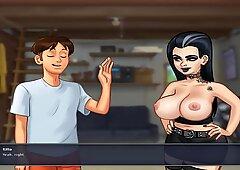 Summertime Saga Cookie Jar all Sex Scenes Odette Part 1